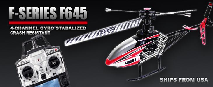 MJX F45 F645 helicopter