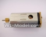 MJX-F49-parts-43 Tail motor with shaft and gear